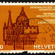 Stock Photo: Postage stamp Switzerland 1975 EuropeArchitectural Heritage Y