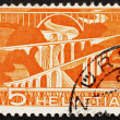 Postage stamp Switzerland 1949 Viaducts - Stock fotografie