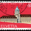 Postage stamp Switzerland 1983 Zurich University - Stock fotografie