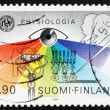 Stock Photo: Postage stamp Finland 1989 31st International Physiology Congres
