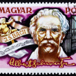 Stock Photo: Postage stamp Hungary 1975 Dr. Albert Schweitzer, Portrait