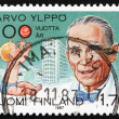 Stock Photo: Postage stamp Finland 1987 Arvo Yippo, Pediatrics Pioneer