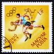 Postage stamp Hungary 1964 Running, Olympic sports, Tokyo 64 — Stock Photo #11391690