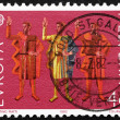 Postage stamp Switzerland 1982 Oath of Eternal Fealty — Стоковая фотография