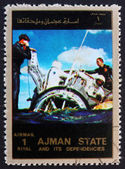 Postage stamp Ajman 1973 Gemini Recovery — Stock Photo