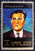 Postage stamp Ajman 1973 Wernher von Braun, Rocket Scientist — Stock Photo