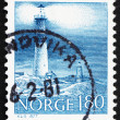 Postage stamp Norway 1977 Torungen Lighthouses, Arendal - Stock Photo