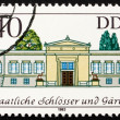 Stock Photo: Postage stamp GDR 1983 Charlotenhoff Palace, Potsdam, Germany