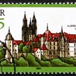 ������, ������: Postage stamp GDR 1984 Albrecht Castle Meissen Germany