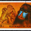 Postage stamp Chad 1972 Mandrills, African Wild Animals — Stock Photo #11525300