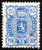 Postage stamp Finland 1895 Crowned Lion Rampant — Stock Photo