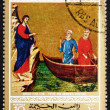 Postage stamp Ras al-Khaimah 1970 Calling of Peter and Andrew, P — Stockfoto #11538262