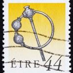 Постер, плакат: Postage stamp Ireland 1991 Silver Thistle Brooch