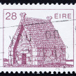 Postage stamp Ireland 1985 St. Mac Dara's Church, Ireland - Stock Photo