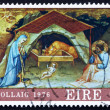 Stock Photo: Postage stamp Ireland 1976 Nativity by Lorenzo Monaco