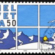Postage stamp Switzerland 1992 Comic strip, Cosey — Stock Photo #11560389