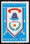 Postage stamp Sweden 1979 Temperance Movement Banner — Stock Photo