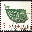 Postage stamp Sweden 1970 Weather Vane, Soderala Church — Stock Photo #11595742