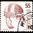 Postage stamp Sweden 1975 Iron Helmet — Stock Photo