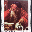 Postage stamp Panama 1967 St. Hieronymus by Albrecht Durer — Stock Photo