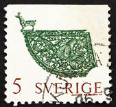 Postage stamp Sweden 1970 Weather Vane, Soderala Church — Stock Photo