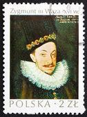 Postage stamp Poland 1974 Sigismund Vasa, King of Poland — Stock Photo