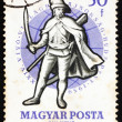 Postage stamp Hungary 1959 Soldier, 18th Century — Stock Photo #11610969
