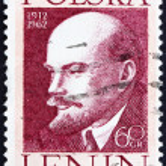 ������, ������: Postage stamp Poland 1962 Vladimir Lenin Revolutionary