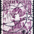 Postage stamp Poland 1938 Treaty of Lublin — Stock Photo