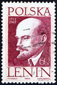 Postage stamp Poland 1962 Vladimir Lenin, Revolutionary — Stock Photo