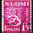 Stock Photo: Postage stamp Finland 1930 Arms of Republic of Finland