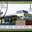 Postage stamp GDR 1988 Berlin-Buch Post Office — Foto Stock #11709004