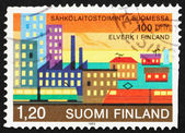 Postage stamp Finland 1982 Electric Energy — Stock Photo
