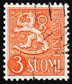 Postage stamp Finland 1954 Arms of the Republic of Finland — Stock Photo