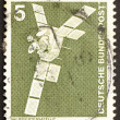 Postage stamp Germany 1975 Satellite — Foto Stock #11731931