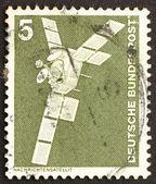 Postage stamp Germany 1975 Satellite — Stock Photo