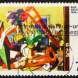 Postage stamp Germany 1974 Big Still-life by Max Beckmann — Stock Photo