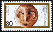 邮票德国 1994 年民族学博物馆、 莱比锡 — 图库照片
