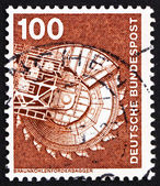 Postage stamp Germany 1975 Bituminous Coal Excavator — Stock Photo