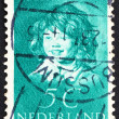 Postage stamp Netherlands 1937 Laughing Child by Frans Hals — Foto Stock #11760340