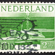 Postage stamp Netherlands 1944 S. S. Nieuw Amsterdam, Transatlan — Stock Photo