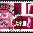 Стоковое фото: Postage stamp Italy 1965 Victims Trapped by Swastika
