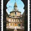 Postage stamp Italy 1967 St Ivo Church, Rome — Stock Photo