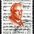 Stock Photo: Postage stamp Italy 1967 Umberto Giordano, Composer