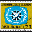 Postage stamp Italy 1967 ITY Emblem - Photo