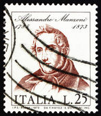 Postage stamp Italy 1973 Alessandro Manzoni, Novelist and Poet — Stock Photo