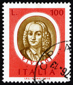 Postage stamp Italy 1975 Antonio Vivaldi, Famous Musician — Stock Photo