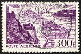 Postage stamp France 1949 Lyon, France — Stock Photo