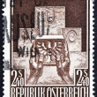 Stock Photo: Postage stamp Austri1956 Austria's Admission to UN