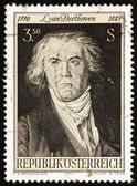 Znaczek austria 1970 ludwiga van beethovena, kompozytor — Zdjęcie stockowe